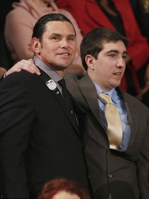 Carlos Arredondo/Jeff Bauman at the State of the Union