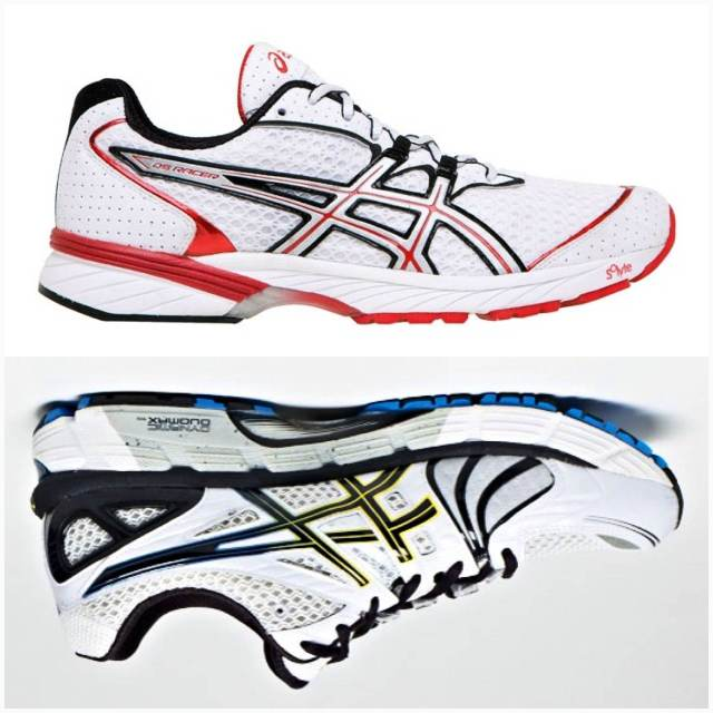Asics Gel DS Racer 8 (top) Asics Gel Kayano 18 (bottom)