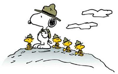 Snoopy Prepping For Leadville