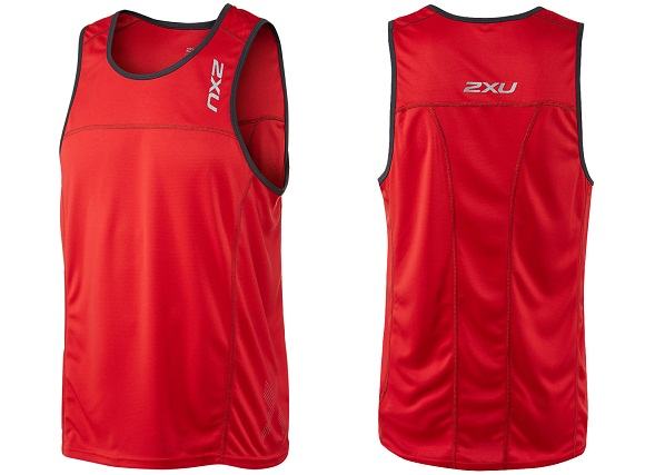 2XU Tech Speed X Run Singlet