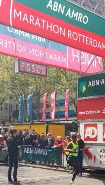 Eliud Kipchoge Wins The Rotterdam Marathon