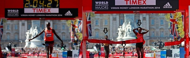 Wilson Kipsang and Edna Kiplagat Win The London Marathon