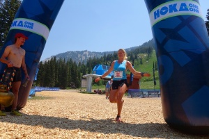Anna Frost Takes The Win photo credit: iRunFar