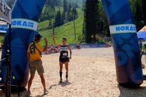 Sage Cruises to Victory at Speedgoat photo credit: iRunFar