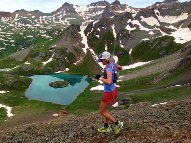 Darcy Piceu (mile 15) photo credit: iRunFar