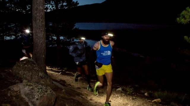 Rob Krar Leading Early at Leadville photo credit: Glen Delman