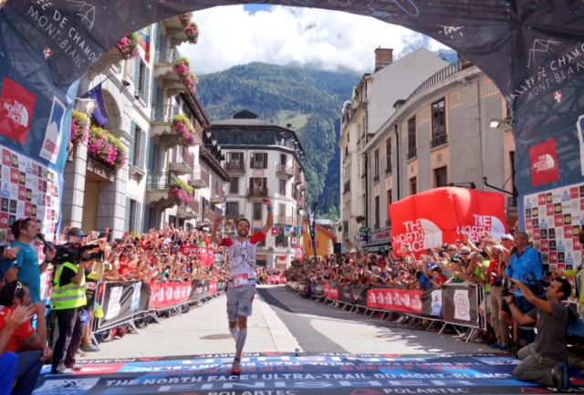 Francois D' Haene Takes The Win (Course Record) photo credit: iRunFar