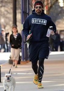 Hugh Jackman Jogs - in Vibrams!