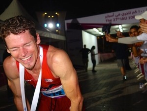 Max King After Winning 100km World Championships