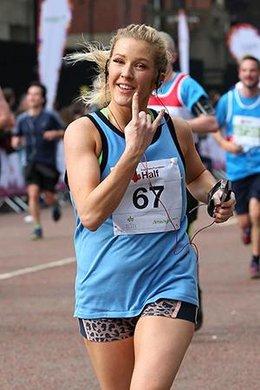 Ellie Goulding Jogs