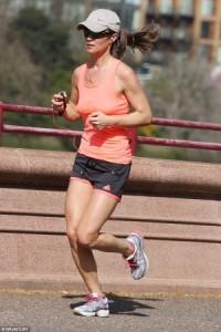 Pippa Middleton Jogs